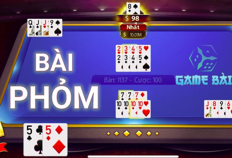 Game bài phỏm là trò chơi đánh bài phổ biến tại Việt Nam