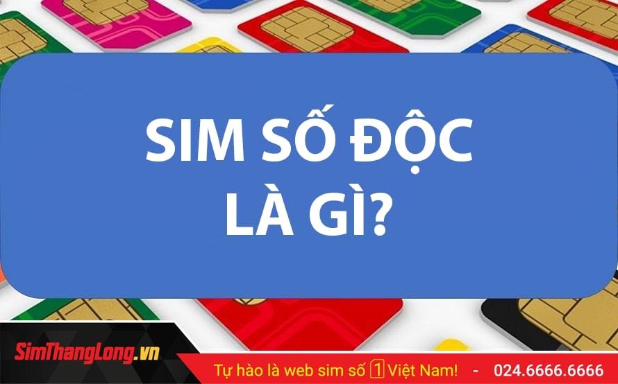 Kho SIM Số độc Sim Thăng Long